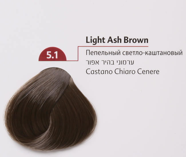 Buy Mon Platin Colour 5 1 Light Ash Brown 100ml Online