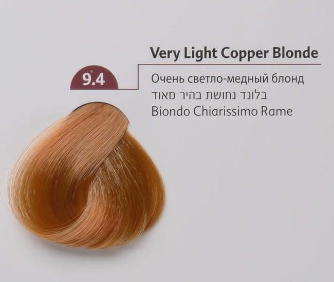 ... Light Copper Blonde 100ml. 9 4verylightcopperblonde