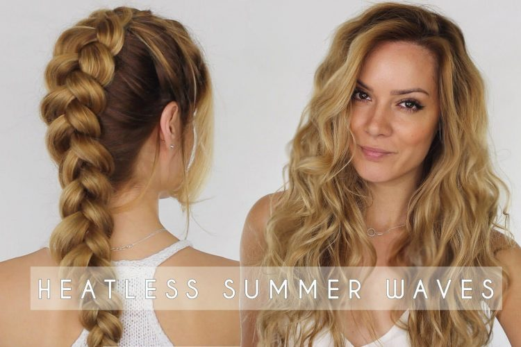 heatless braids