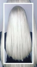 silver hair colour